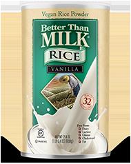 Rice Vanilla Vegan Powder